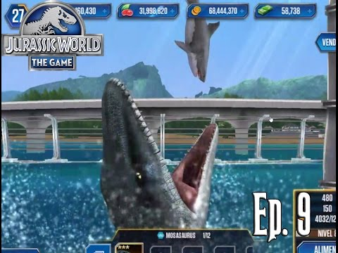 EL INVENCIBLE MOSASAURUS!!!!! // Jurassic World: El Juego #9 - En Español HD
