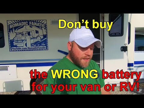 RV and Van Battery Basics
