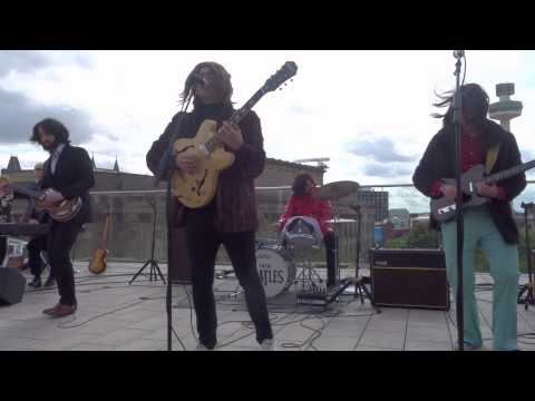 Them Beatles, Back in the U S S R, Come Together, Revolution ROOFTOP SHOW