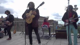 Them Beatles, Back in the U S S R, Come Together, Revolution. (ROOFTOP SHOW)