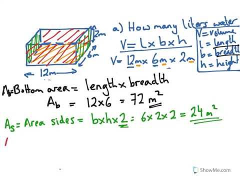 Year 8 9 calculate volume of water in a pool time to - How to calculate swimming pool volume ...