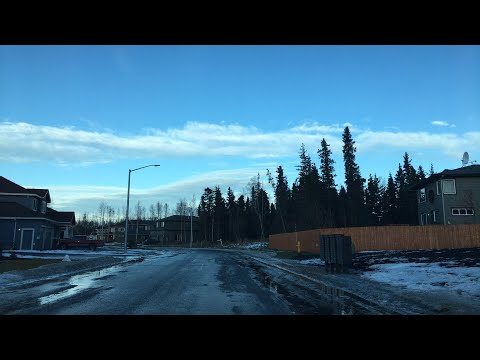 Livestream Drive - Post Office Errand - Anchorage Alaska - December 11th 2017