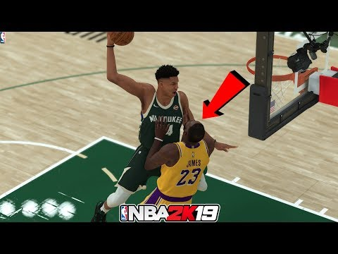 NBA 2K19 Top 10 Disrespectful Dunks And Posterizes
