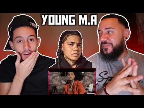 """Young M.A """"No Bap Freestyle"""" (Official Music Video) REACTION !!"""