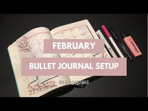 February BULLET JOURNAL SETUP | 2019