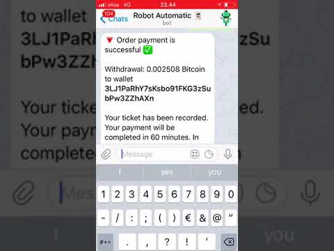 Robot Automatic Bot Paying  Withdrawing 0 002508 BTC  - Смотреть