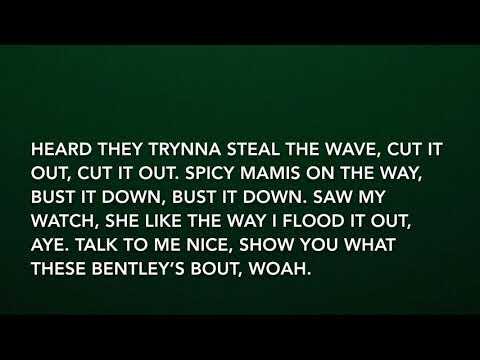 Meek Mill - Uptown Vibes Ft. Fabulous & Anuel AA Lyrics