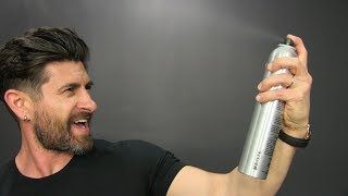 Pedro's Pointers: How & Why Men Should Use Hairspray For BETTER Hair!