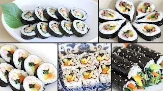 How to Make Gimbap (Kimbap): 6 Authentic Variations + 4 Crazy Fusion Variations