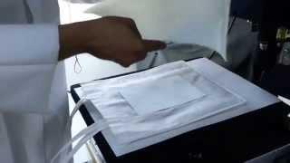 طريقة الطباعة على الأكياس القماش