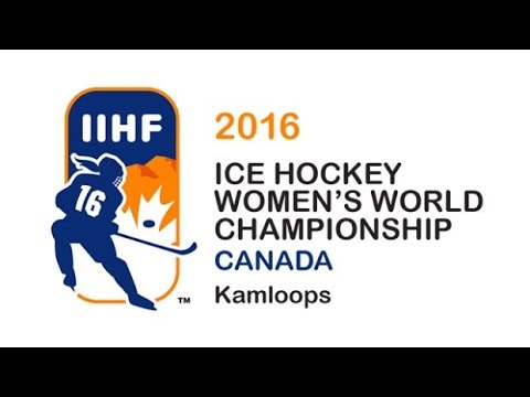 Canada vs  Finland   2016 IIHF Ice Hockey Women's World Championship