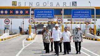 Presiden Jokowi Meresmikan Jalan Tol Pandaan-Malang, Malang, 13 Mei 2019