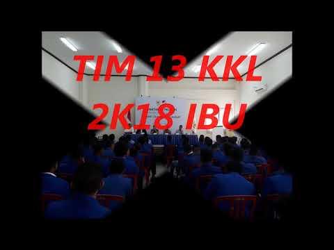 TIM 13 KKL 2K18 IBU