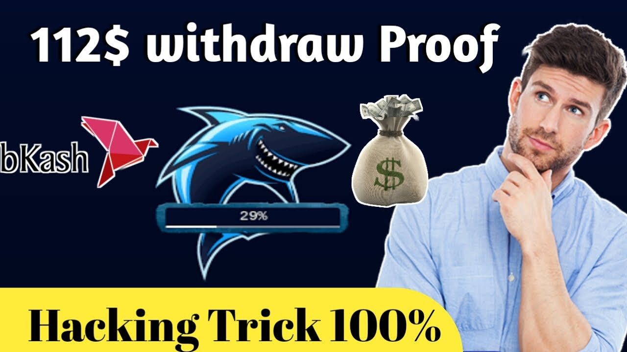 SHARKOIN 112$ Live Withdraw || SHARKOIN hacking Trick 2020