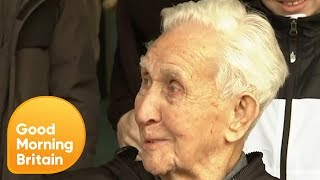 107-Year-Old Jack Reynolds Aiming for Fourth World Record | Good Morning Britain