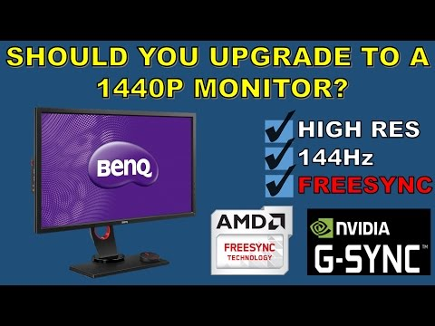 My experience with the Benq XL2730Z a 1440P 144Hz monitor with Freesync