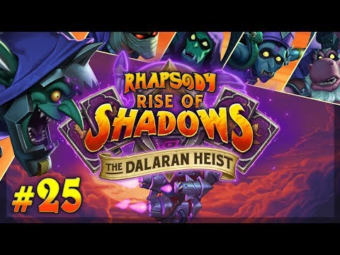 Let's Play Hearthstone The Dalaran Heist: Chapter 5 | Heroic Discard Warlock - Episode 25