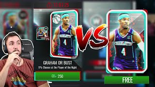 FREE VS CASH BOOM OR BUST PACKS IN NBA LIVE MOBILE! Are They Worth It?