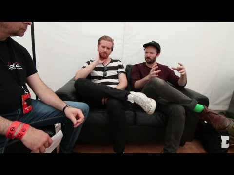Interview lonely the brave with Mark Trotter and Ross Smithwick - Download Paris 2017