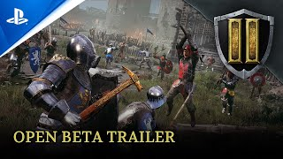 Chivalry 2 - Open Beta Trailer   PS5, PS4