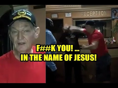 Vietnam Veteran Pastor Assaults Staff At Uganda Hotel In Drunken N-Word Rant!!