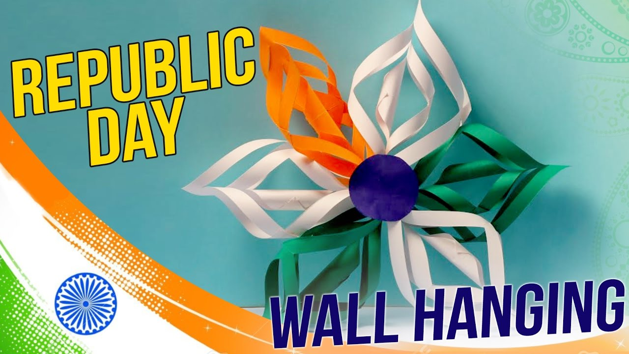 Diy Republic Day Wall Hanging Easy To Make Decor Craft Basket