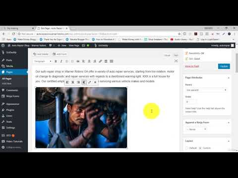 6 How To Add Photos, Videos, and PDF to website using SEO