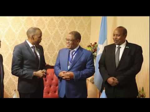 Ra'iisul Wasaare Khayre oo gaaray  magaalada Lusaka ee dalka Zambia