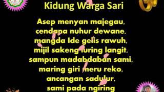 Kidung Warga Sari Original