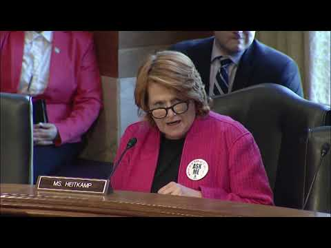 At Senate Hearing, Heitkamp Highlights Need to Ensure Accurate 2020 Census Count in Indian Country