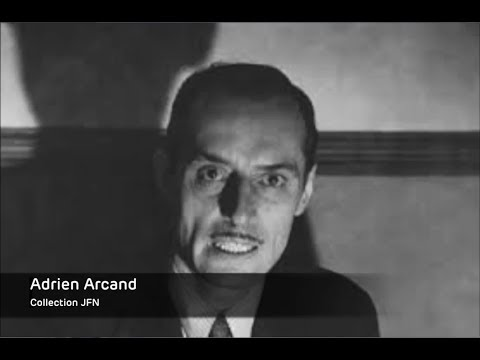 Adrien Arcand et la percée du fascisme à Montréal (Radio-Canada)