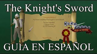 [OSRS] The Knight's Sword Quest (Español)