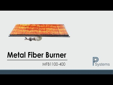 High Capacity Infrared Gas Burner MFB1100-400 l FiberTech by PP Systems