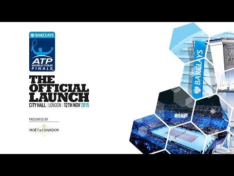 2015 Barclays ATP World Tour Finals Official Draw Ceremony - 12 Nov 2015