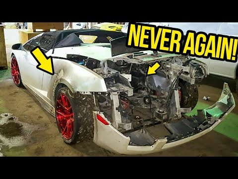 I Found The REAL Reason Why My Cheap Lamborghini Was On FIRE (And Fixed It For FREE!)