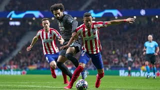 Mohamed salah vs atletico madrid (away) / 2020