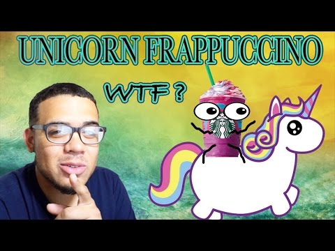 Lol Funny Rant on the Starbucks Unicorn Frappe