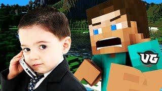 KID ACTUALLY CALLS MICROSOFT ON MINECRAFT! (Minecraft Trolling) thumbnail