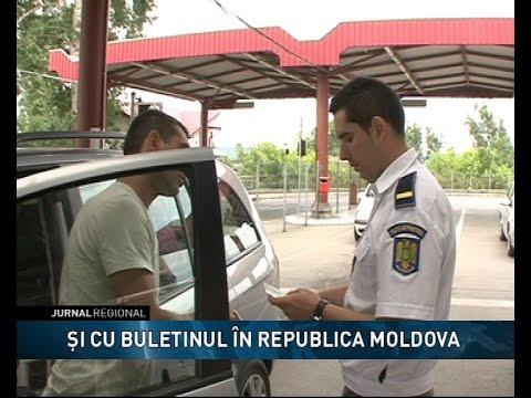 Şi cu buletinul în Republica Moldova