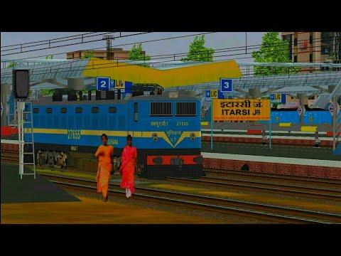 51673 Itarsi - Satna Passenger (UnReserved) || Indian Railway In MSTS OPEN RAIL ||