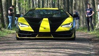 $2.5 Million Lamborghini Centenario LP770-4 On The Road!