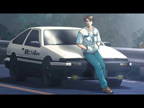 Initial D - Running In The 90s (HD)