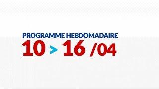Programme de courses Equipe FDJ - semaine du 10 au 16 avril