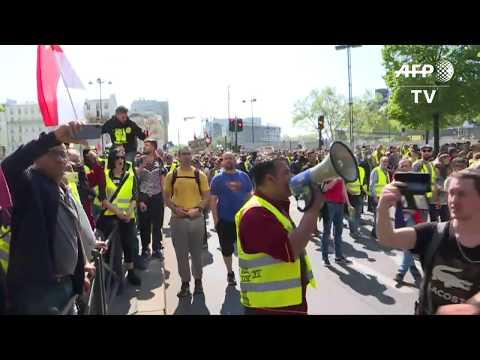 """Acte 23 Des """"Gilets Jaunes"""" : Début De La Manifestation à Paris L AFP Images"""
