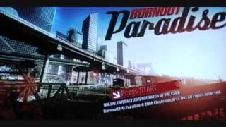burnout paradise cheats