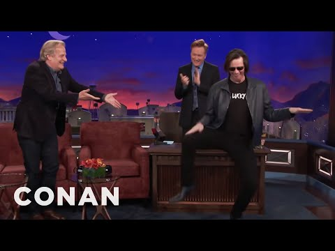 Jim Carrey Crashes Jeff Daniels' CONAN    CONAN on TBS