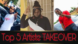 Top 5 Best Artiste for 2019 BREAKOUT | Chronic Law, Jahvillani, Sotto Bless