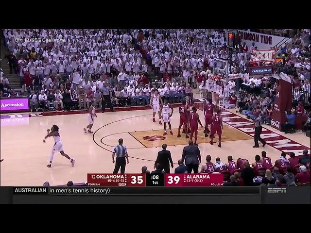 Oklahoma vs Alabama Mens Basketball Highlights