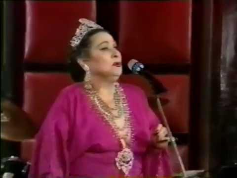 Yma Sumac--Ataypura, La Molina, Rare Paris TV, 1989