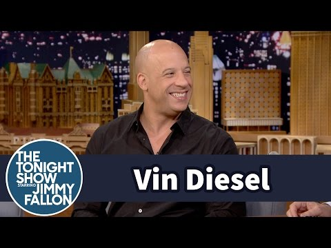 Vin Diesel's Daughter Sends Him Adorable Texts on Set